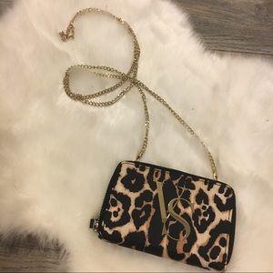 Victoria's Secret mini cross body wallet bag